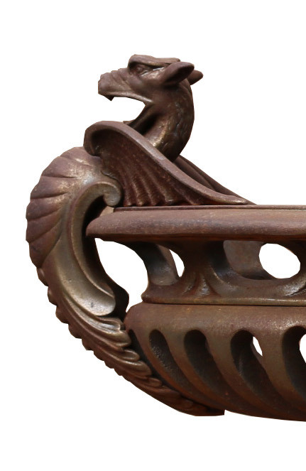 Home About Latest Items Delivery Contact Us Reclaimed Cast Iron Oval Bowl Grate