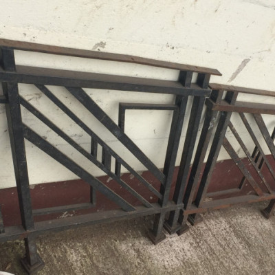 Iron Ballast Railings