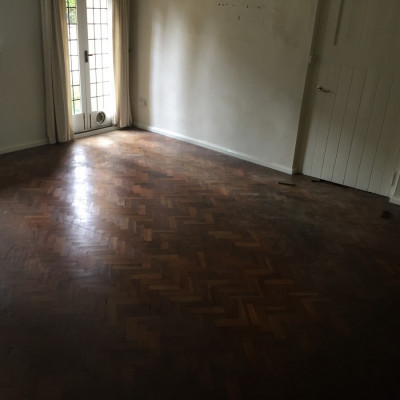 parquet flooring about 30-35 square meters