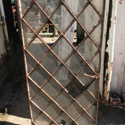 Cast iron Diamond Window