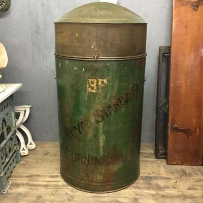 Vintage BP Burning Oil Tank - 50 Gallon