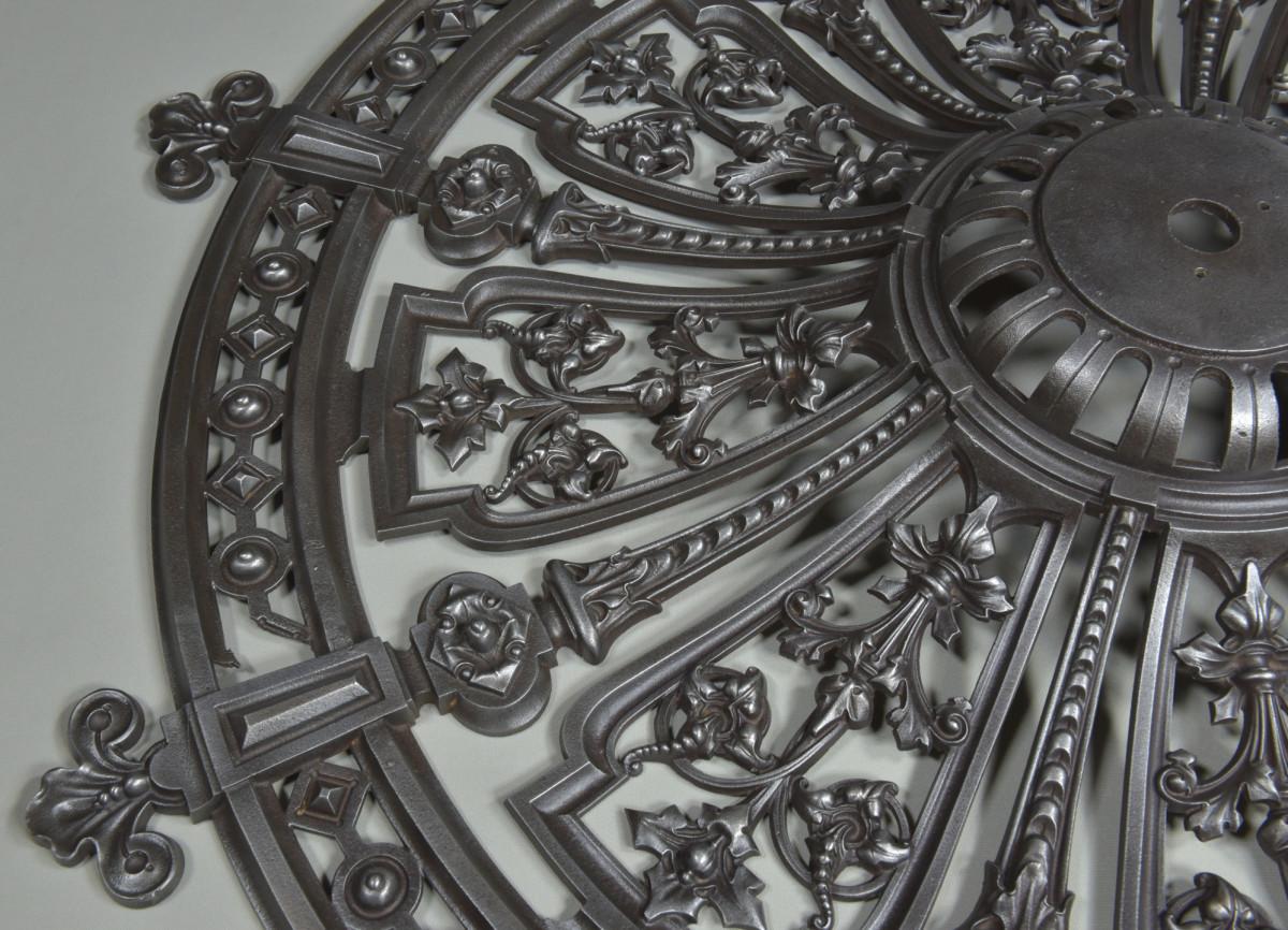 Cast Iron Ceiling Rose 1870