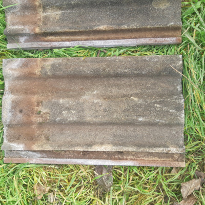 concrete Marley Roof tiles