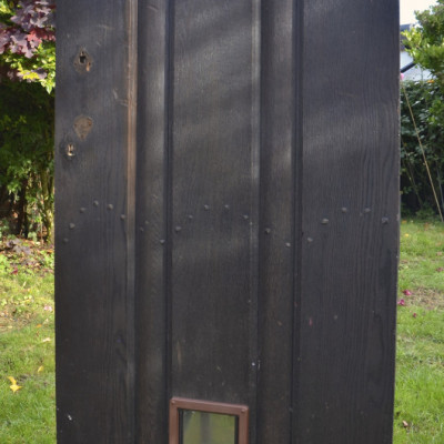 Original Oak Arts & Crafts Door