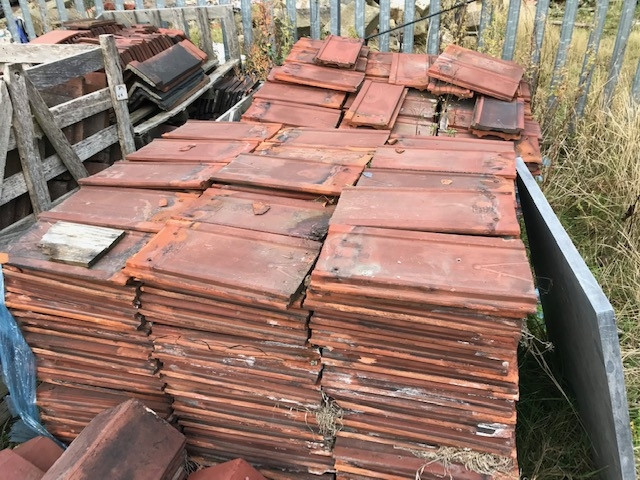 For Sale Somerset Clay Roof Tiles Salvoweb Uk