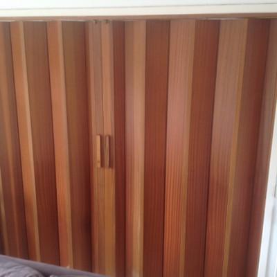Two sets of Pella Concertina Doors