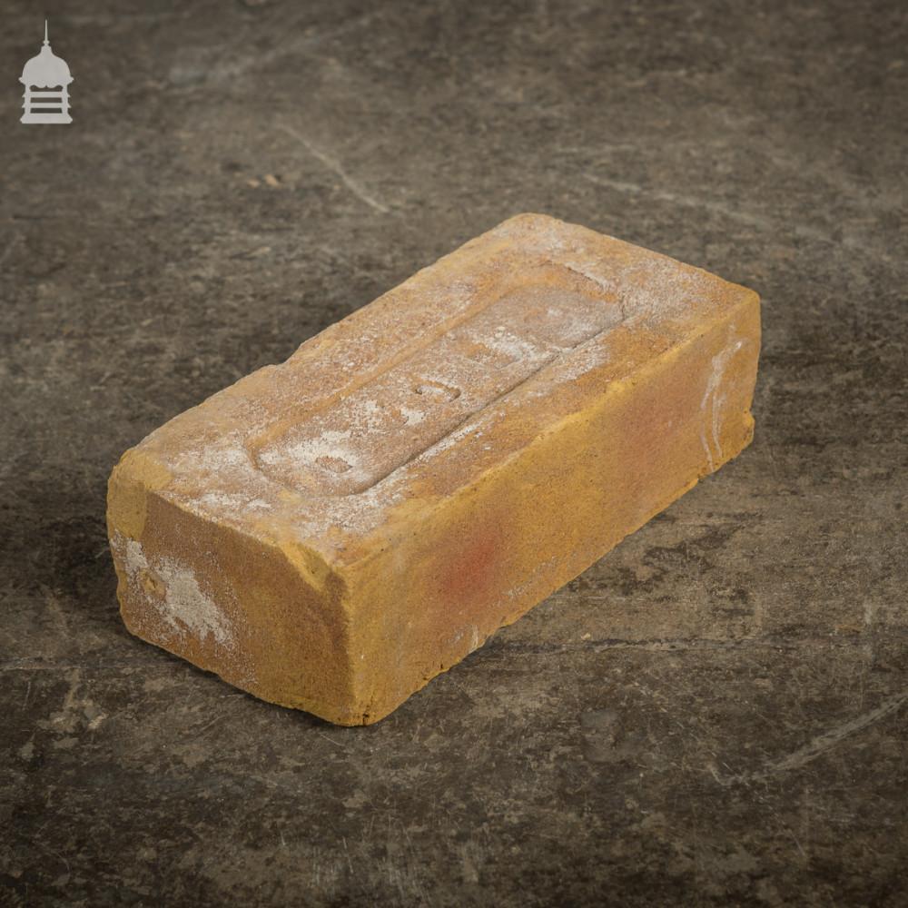 Batch of 672 Reclaimed Buff Yellow Bricks