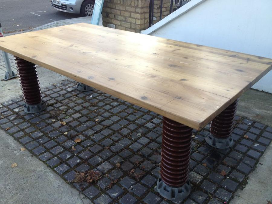 31ab1091fff21 For Sale Electrical Insulator Dining Table- SalvoWEB UK