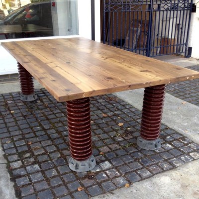 Electrical Insulator Dining Table