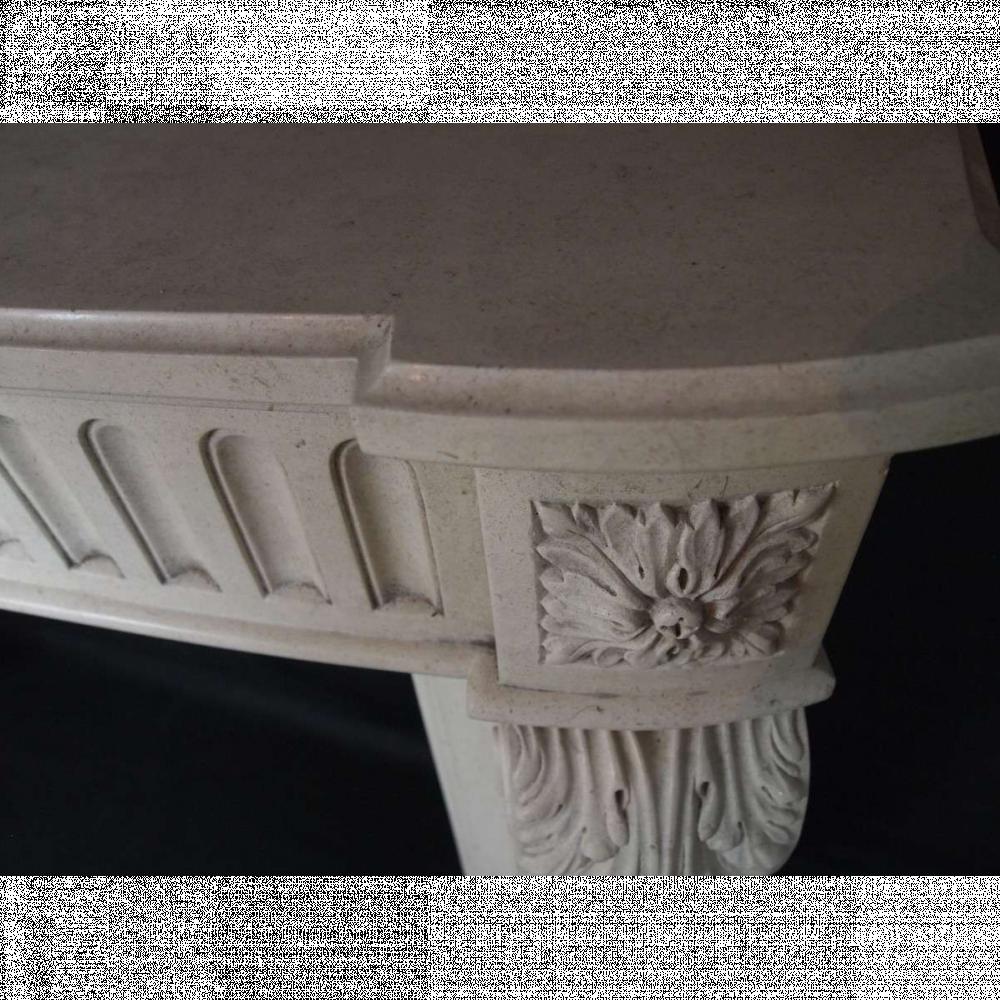 limestone chimneypiece