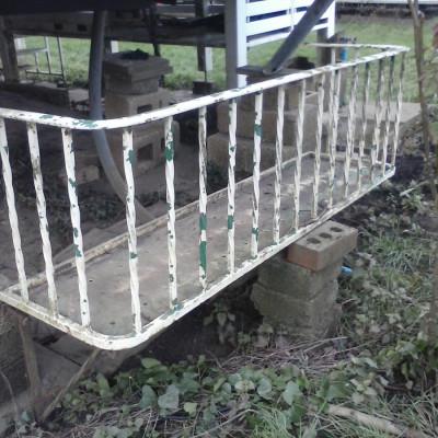 Antique Barley twist balcony