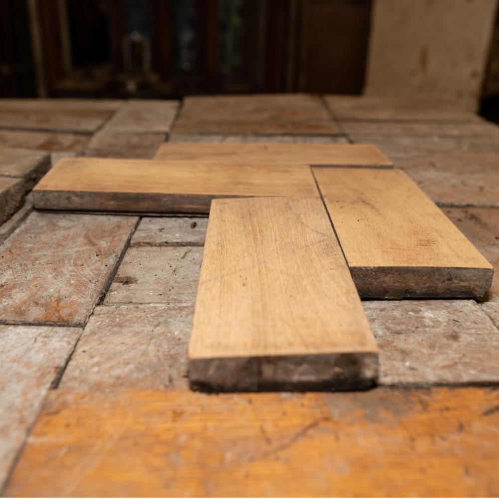 Antique Reclaimed Oak Parquet Flooring 12m²