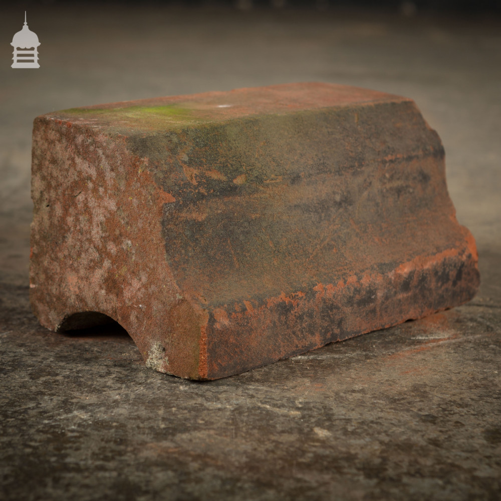 Batch of 100 Reclaimed Moulded Red Special Bricks