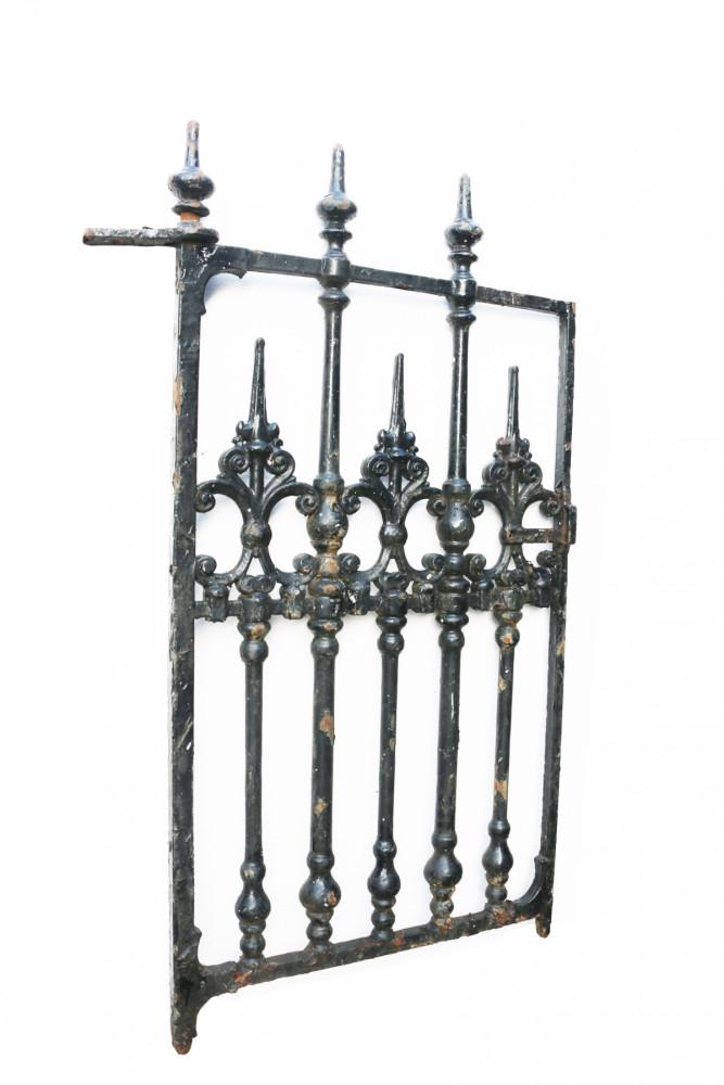 Victorian Cast Iron Pedestrian Gate