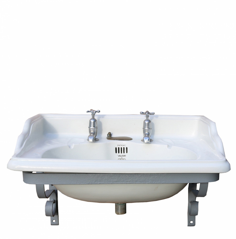 John Bolding Wall Mounted Basin With Iron Bracket