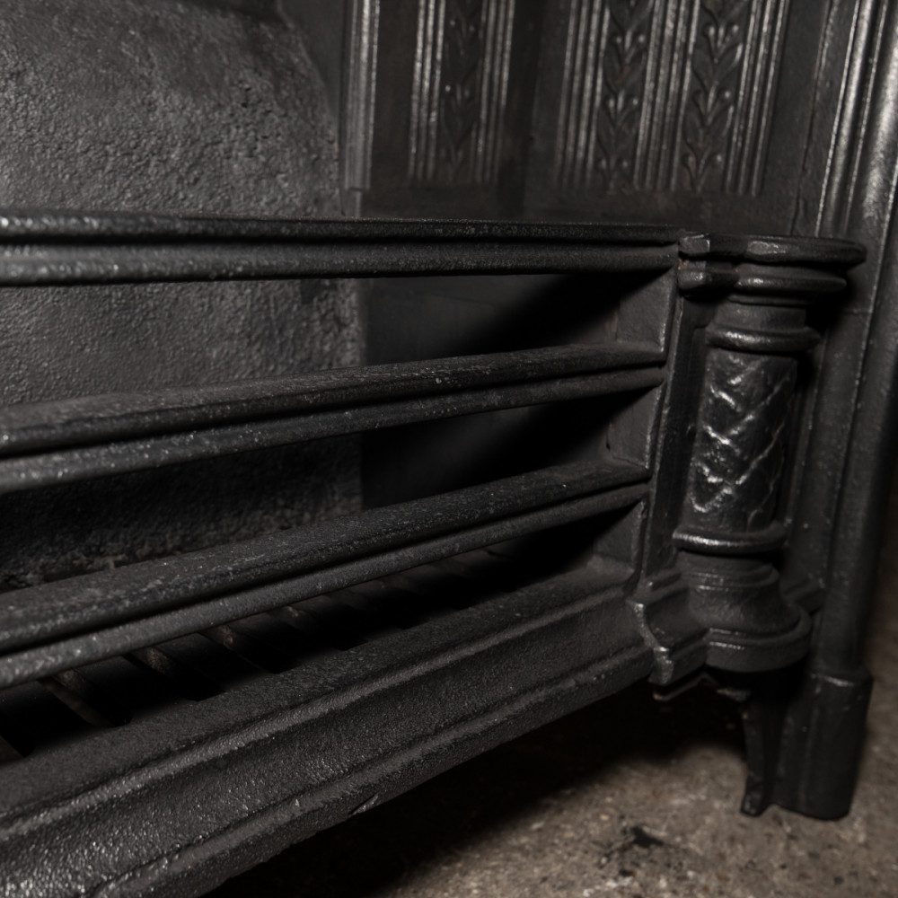 Reclaimed Victorian Style Cast Iron Register Grate