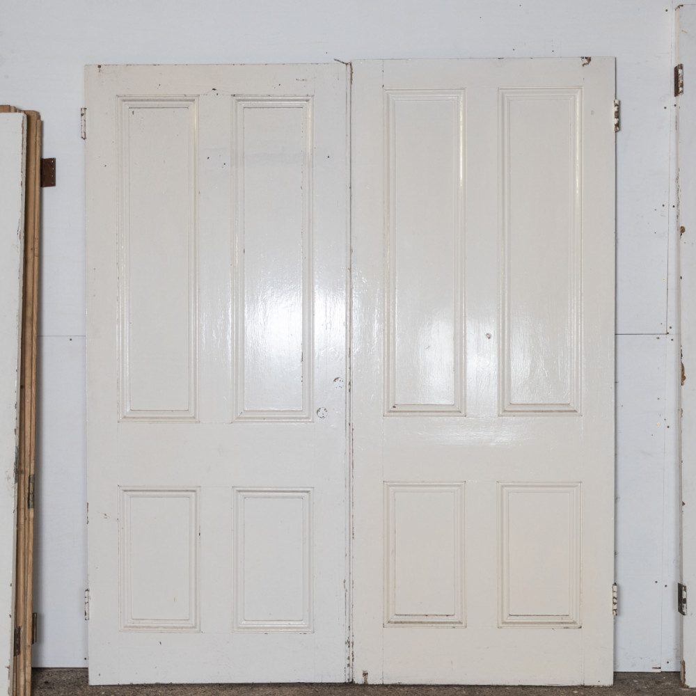 Victorian Double Doors Room Divider in Pine