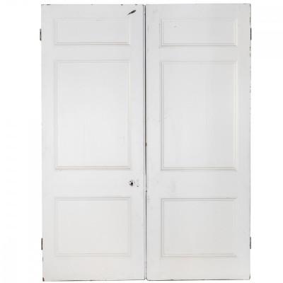 Victorian Double Doors Room Divider in Pine