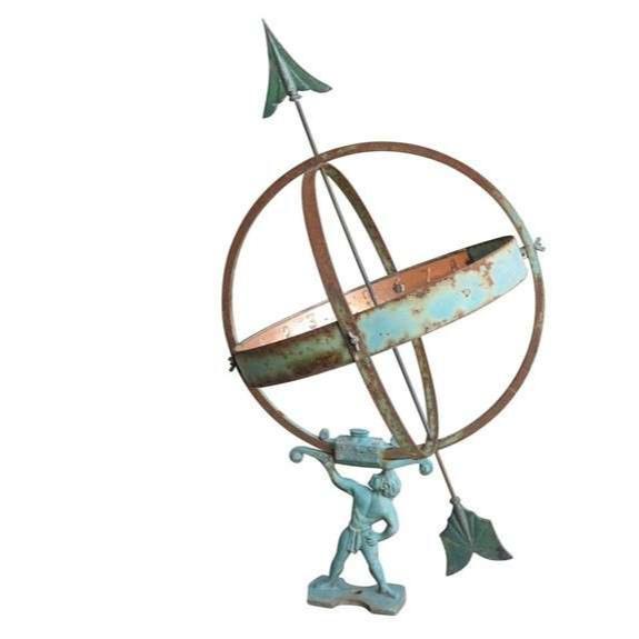 Garden Antique Armilliary Sundial