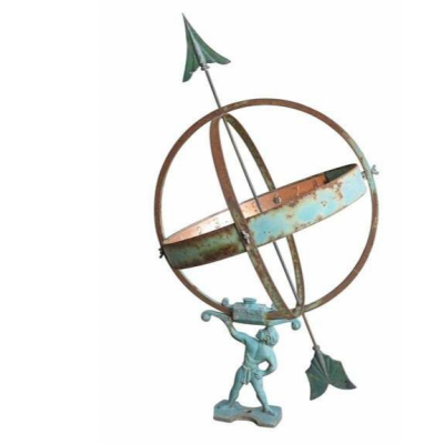 Garden Antique Armilliary Sundial