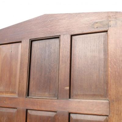 Circa 1900 Oak Exterior Door