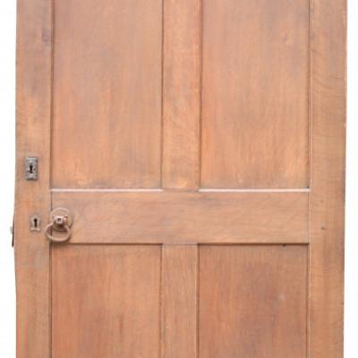 Circa 1900 Arched Oak Door