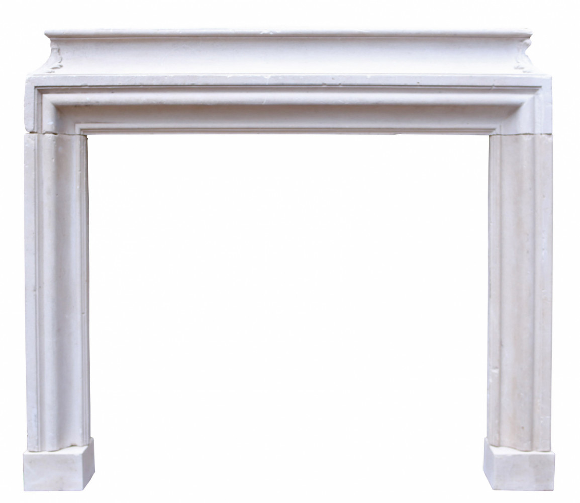 Reclaimed Carved French Limestone Fire Surround