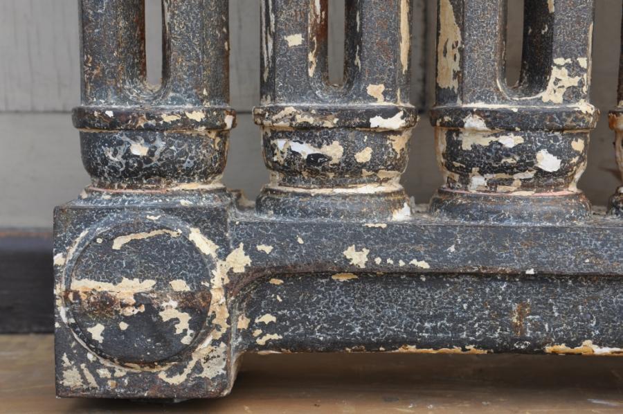 rare antique grilled cast iron radiators