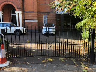 Two Pair of Iron Gates and Posts