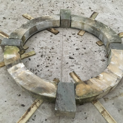 Hand crafted yorkshire stone window set