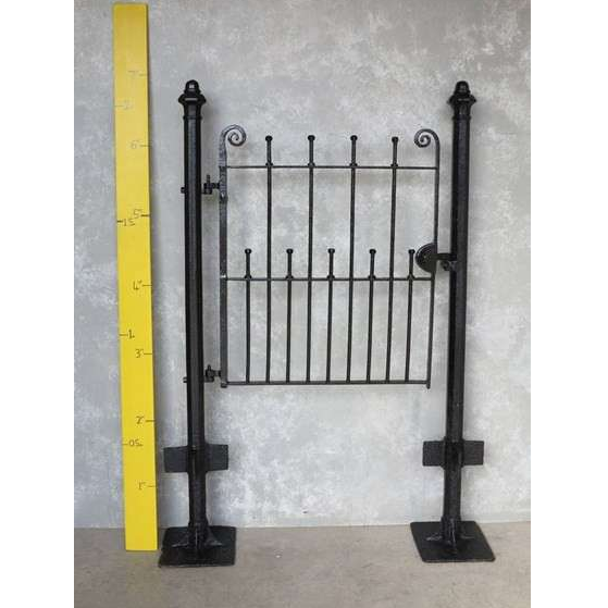 Excellent pedestrian gate and posts, ready to fit
