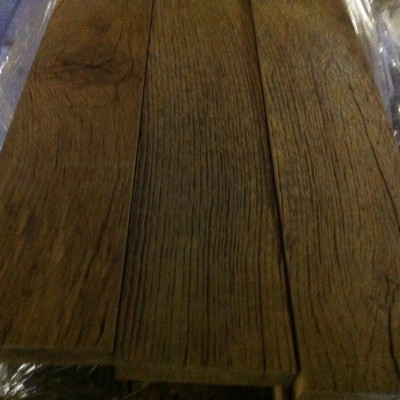 Very old oak plank floors - 50sqm