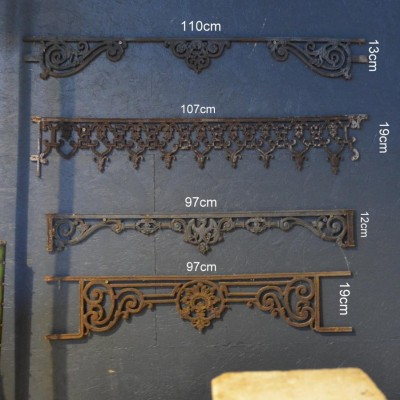 garde corps fontes - antique window guard rails