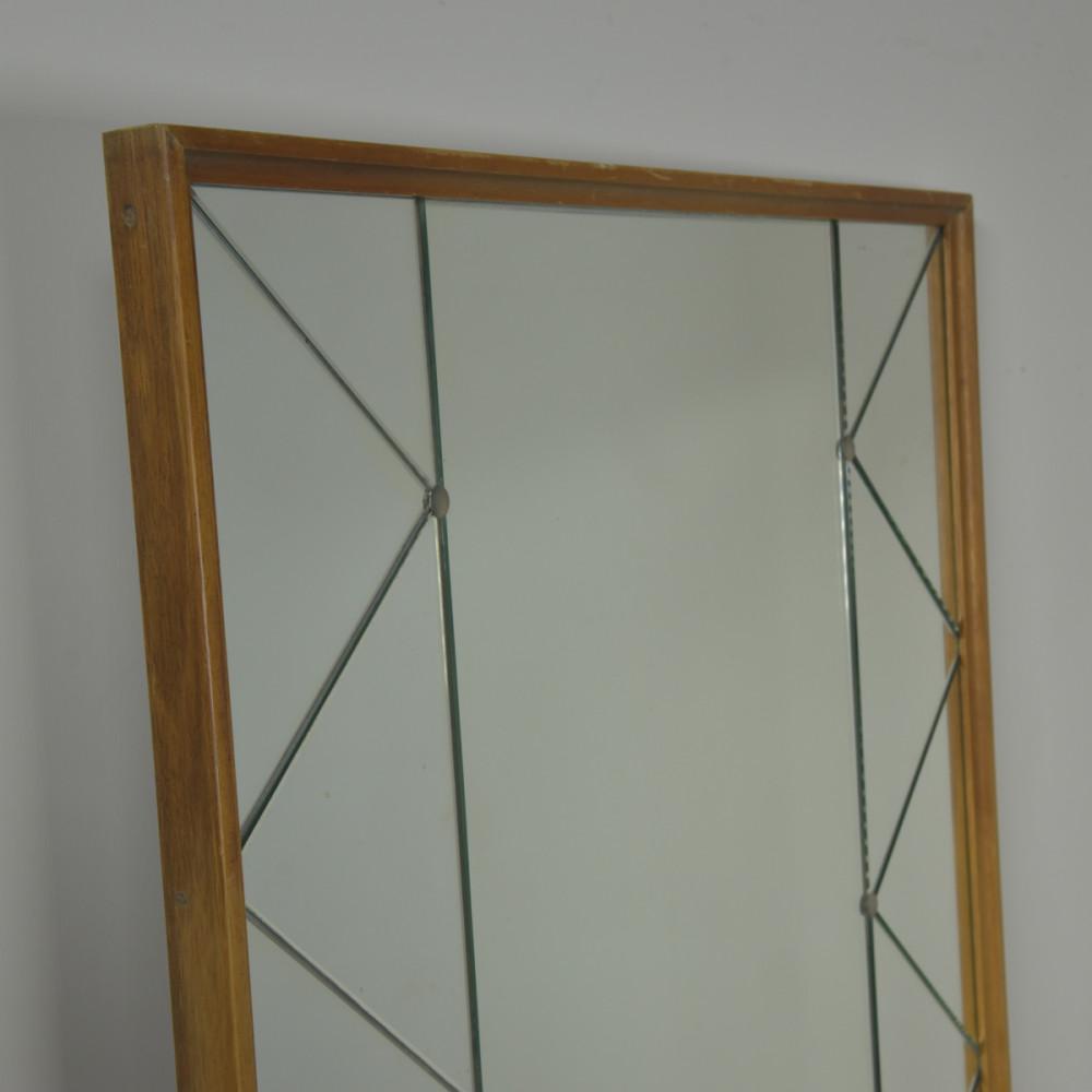 """Swedish """"Harlequin"""" Mirrors - Pair"""