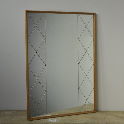 "Swedish ""Harlequin"" Mirrors - Pair"