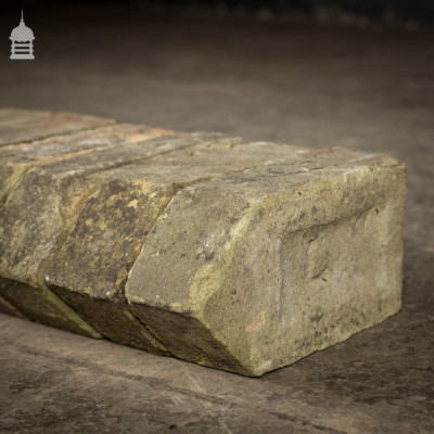 Batch of 15 Reclaimed Buff Squint Bricks