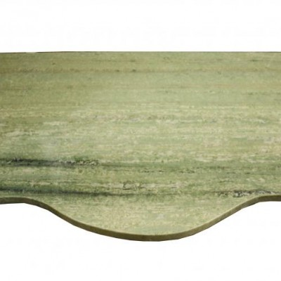 An early 20th C. Swedish Green marble table top