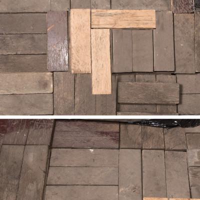 Antique Reclaimed Oak Parquet Flooring 19m²