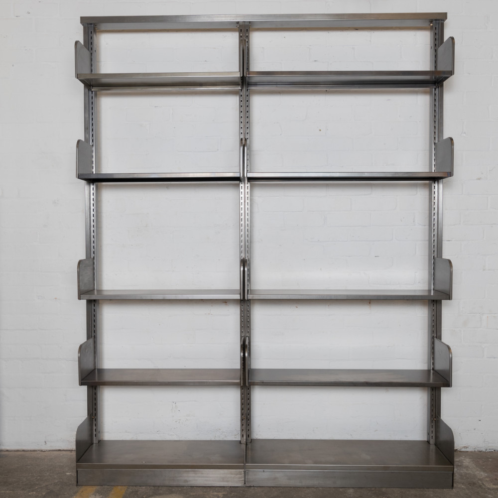 Reclaimed & Restored Mid century Shelving Units