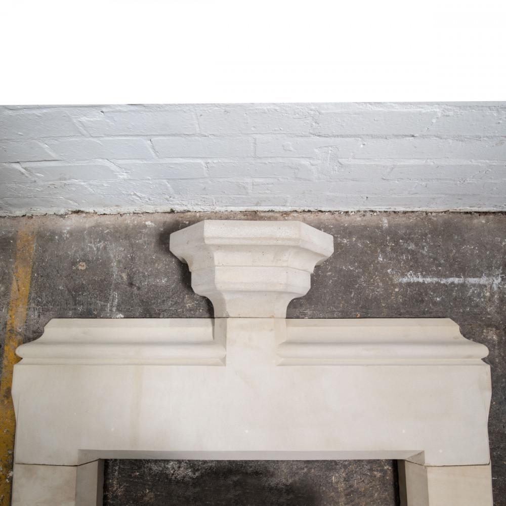 Antique Victorian Sandstone Fireplace Surround