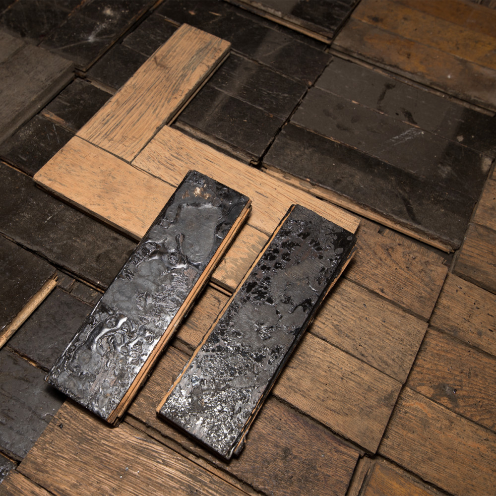 Antique Reclaimed Oak Parquet Flooring 8m²
