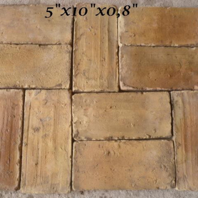Antique terracotta tiles - 120sqm available