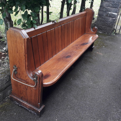 Pitch Pine Church Pews, circa 1886.