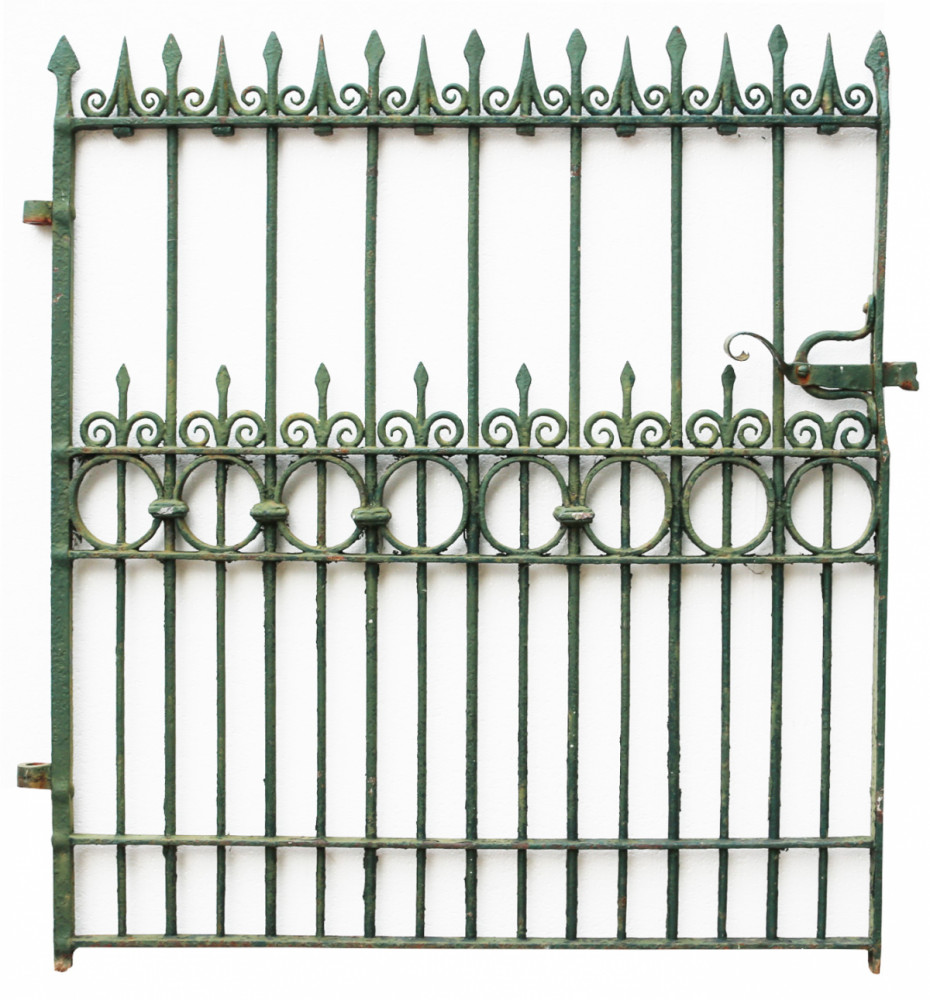 Mid 19th Century English Wrought Iron Pedestrian Gate