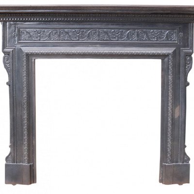 Reclaimed Antique Cast Iron Fireplace