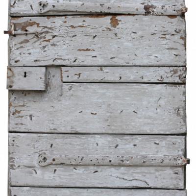 17th Century English Exterior Elm Plank Door