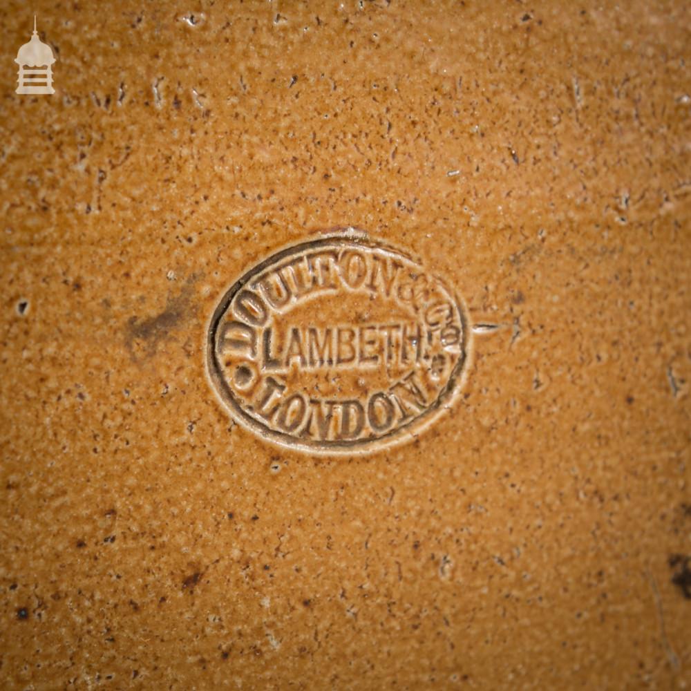 Set of 50 Doulton Lambeth Salt Glazed Edgings