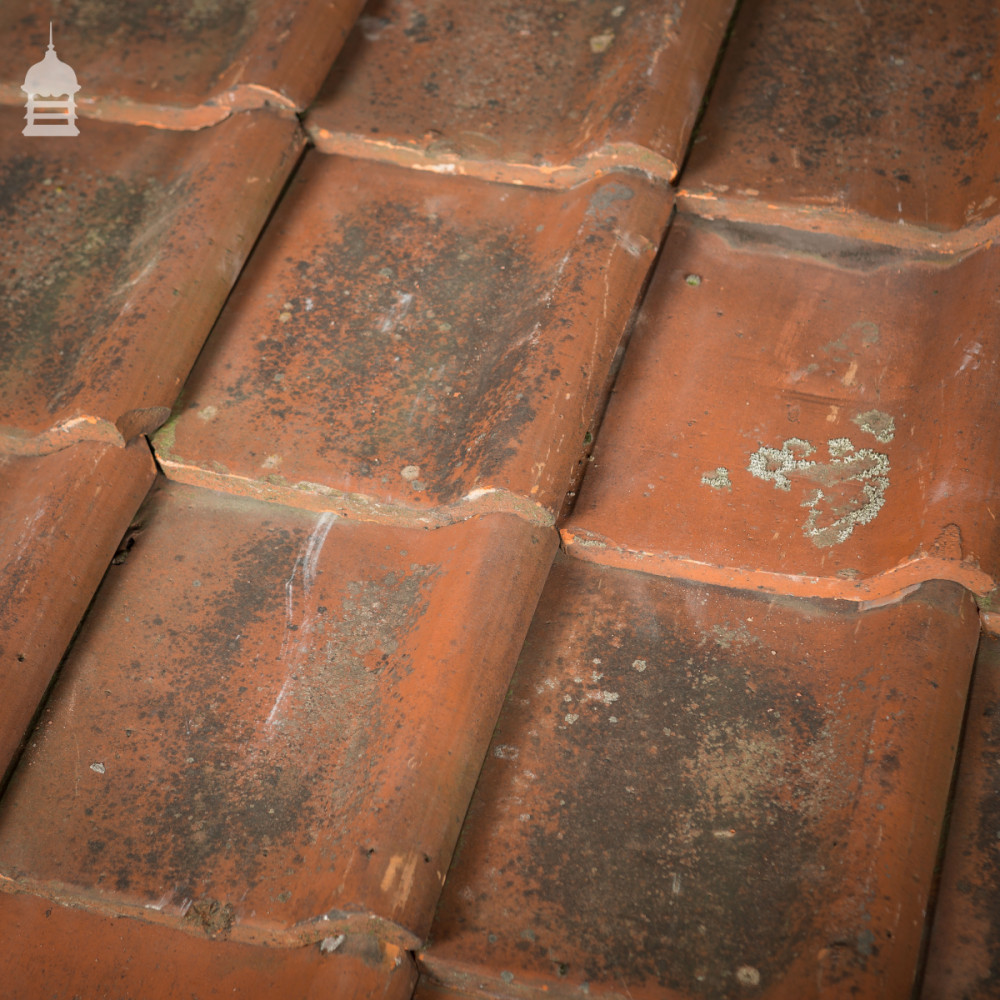 Reclaimed Red Clay French Gaelic Pan Tiles