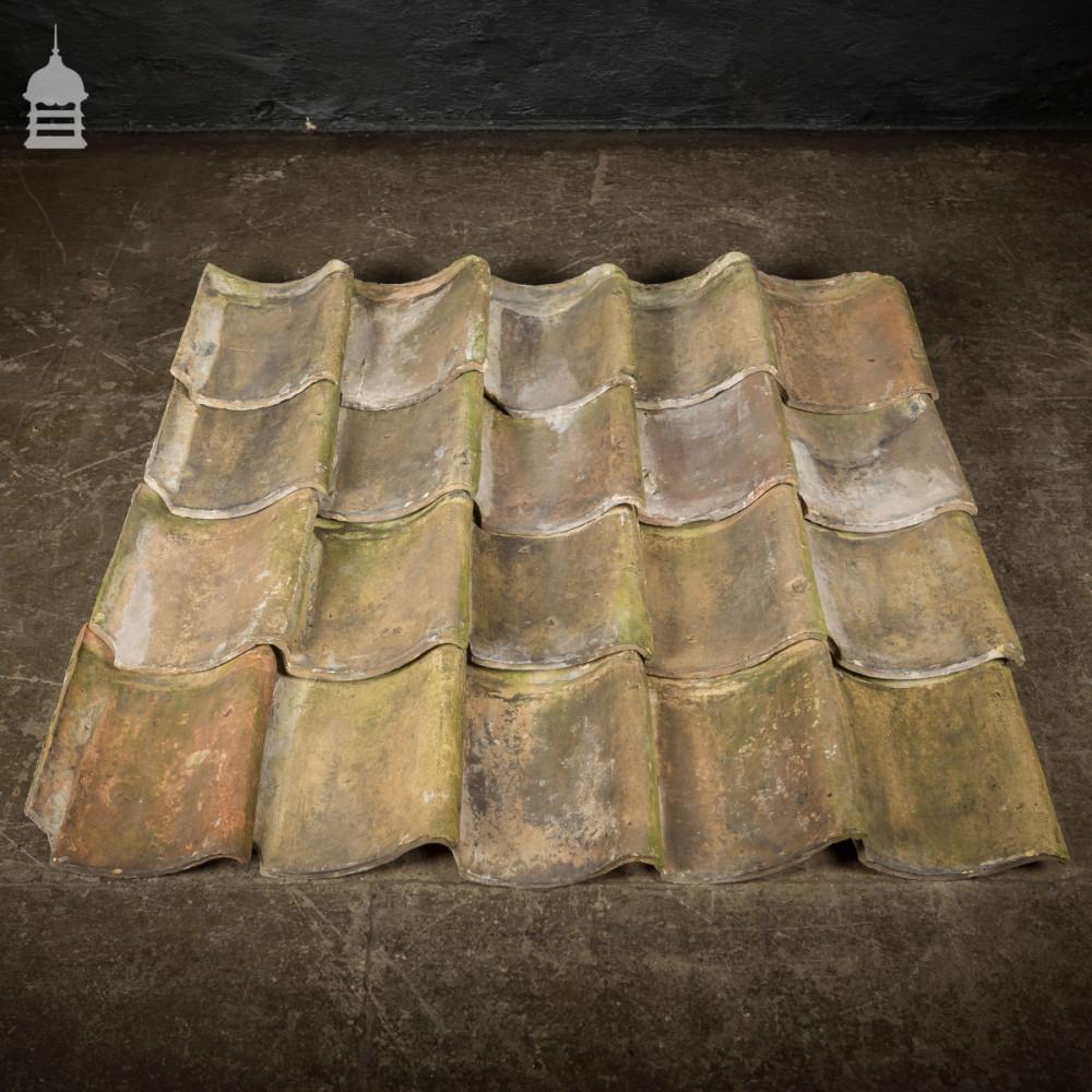 Reclaimed Buff Handmade Pan Tiles
