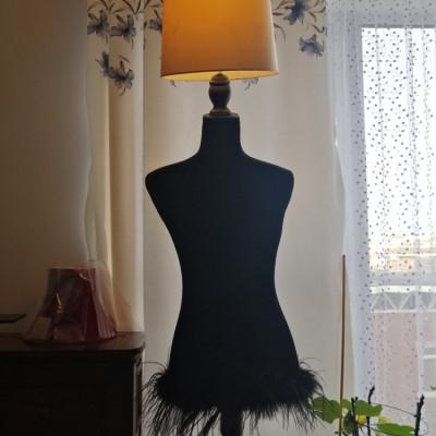 Manequin lamp